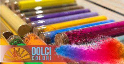 dolci colori promozione azienda specializzata nella produzione di colori naturali verona