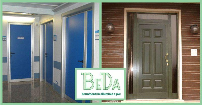offerta realizzazione porte per abitazioni Verona - occasione produzione porte ingresso Verona