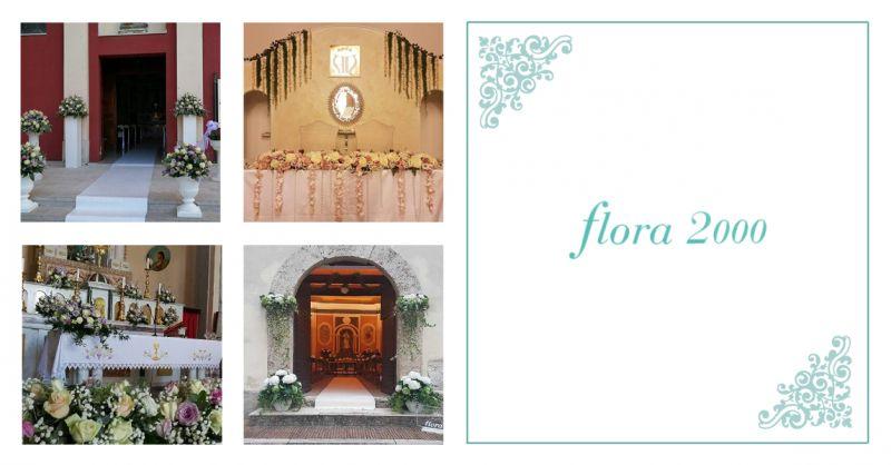 FLORA 2000 offerta addobbi floreali matrimoni teggiano - occasione allestimenti fiori nozze