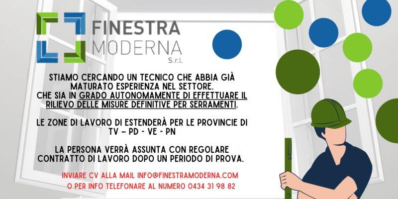 Offerta di lavoro come tecnico serramentista a Pordenone a Treviso a Venezia – offerta cercasi serramentista a Pordenone a Treviso a Venezia