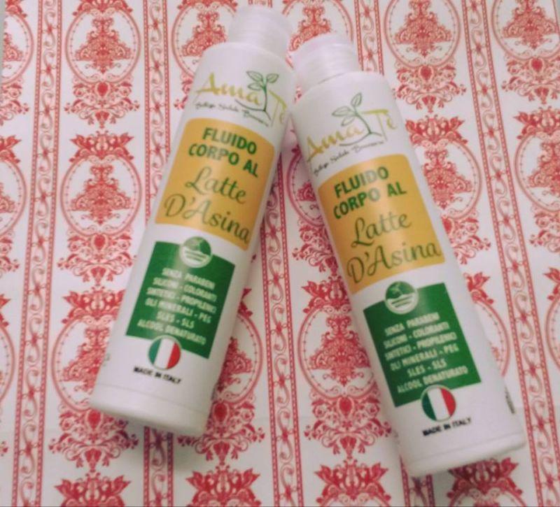 offerta vendita crema corpo latte d'asina - occasione acquisto crema corpo idratante naturale