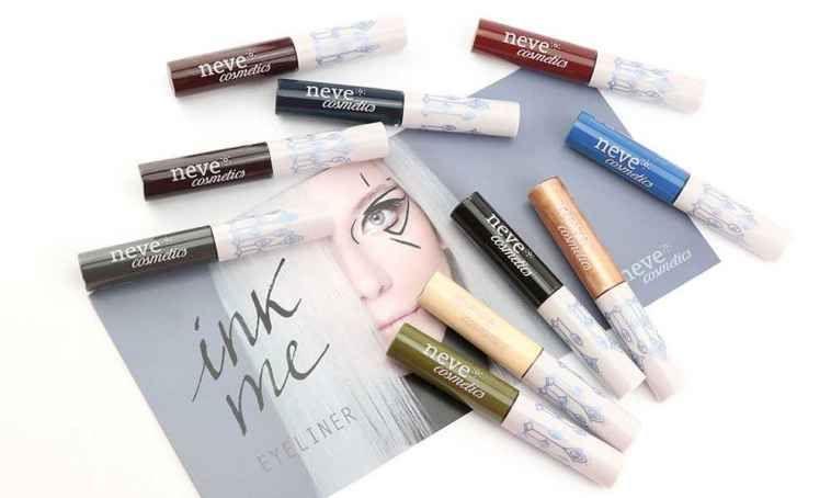 offerta vendita eyeliner senza parabeni e siliconi - occasione acquisto eyeliner Neve Cosmetics