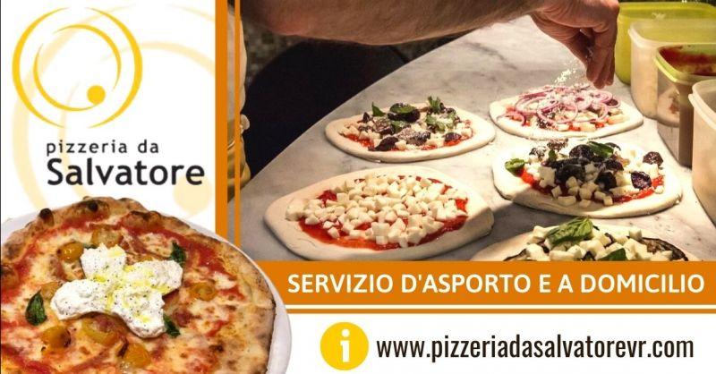 PIZZERIA DA SALVATORE - Offerta pizzeria con servizio consegna a domicilio centro Verona