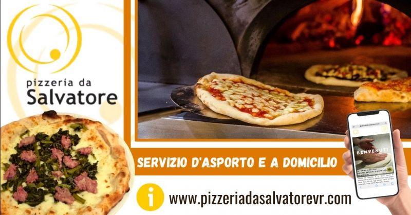 PIZZERIA DA SALVATORE Offerta pizzeria tipica napoletana con servizio d'asporto Verona