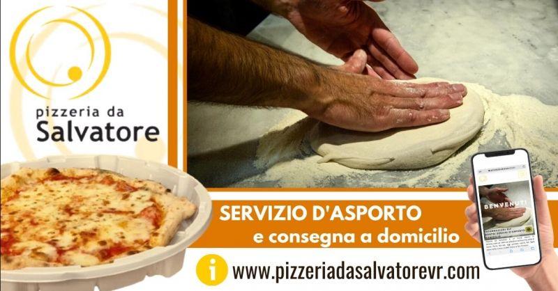 PIZZERIA DA SALVATORE Occasione pizza d'asporto cotta su forno a legna centro Verona