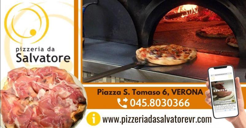 Offerta dove mangiare pizze speciali Verona centro - Occasione pizzeria napoletana con servizio take away Verona