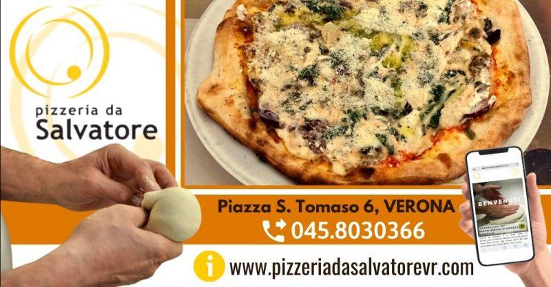 Offerta menù pizzeria con servizio delivery Verona - Occasione dove mangiare pizza napoletana Verona