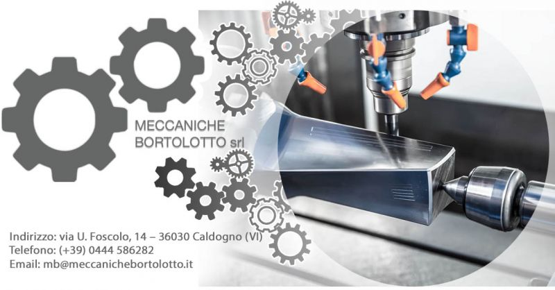 Offerta Tornitura Fresatura metalmeccanica Vicenza - Occasione Attività e professionalità nel settore metalmeccanico Vicenza