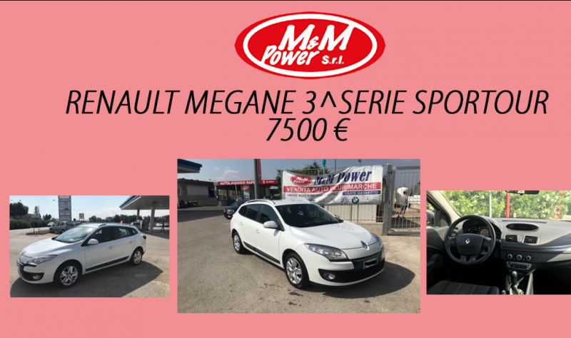 Offerta M&M power bari concessionaria auto vendita automobili renault megane diesel usato promo