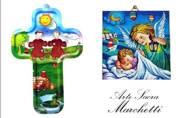 Offerta vendita online bomboniere con soggetti sacri-Promozione bomboniera per Prima comunione