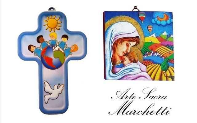 Offerta vendita bomboniere per Battesimo e Cresima-Occasione acquisto regali con soggetti sacri