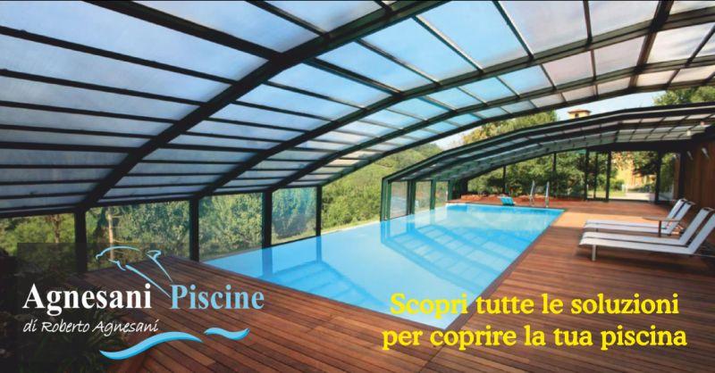 offerta installazione copertura per piscine in inverno - occasione coperture invernali piscine imperia