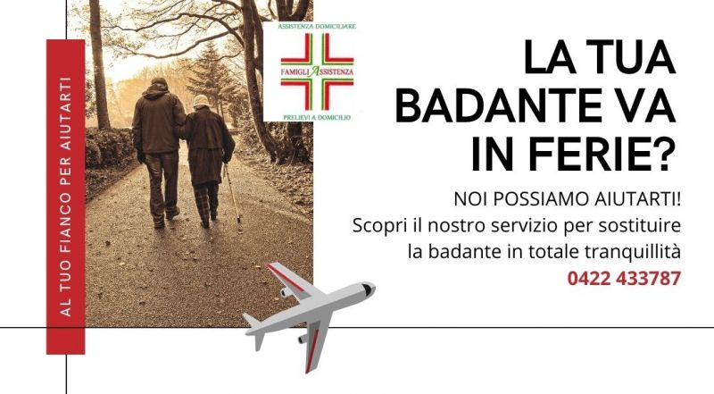 Offerta servizi badanti a domicilio a Treviso – Occasione sostituzione badante a Treviso