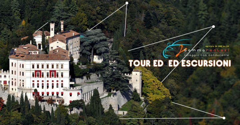 GAMMARENTTAXI Offerta servizio  tour ed escursioni Treviso - Occasione tour territorio Veneto