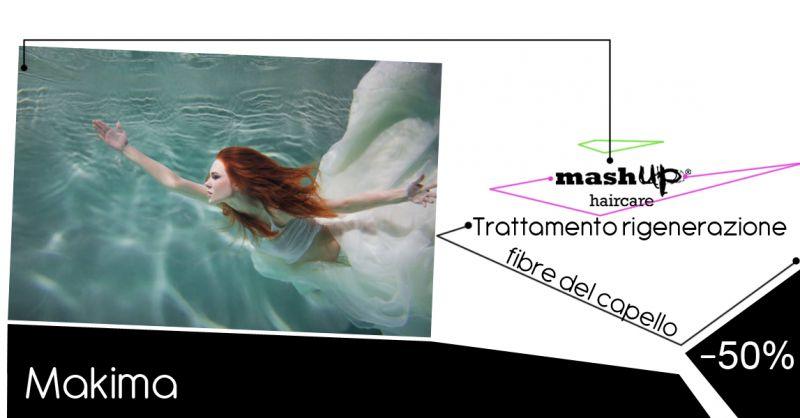 Offerta trattamento rigenerante fibra capillare Riese Pio X - Makima