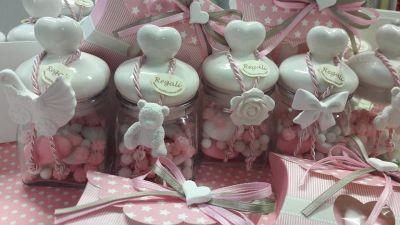 offerta bomboniere confezionate artigianalmente padova occasione regali battesimo padova