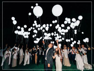 offerta vendita palloncini a led per matrimoni promozione led ballons for wedding a brindisi