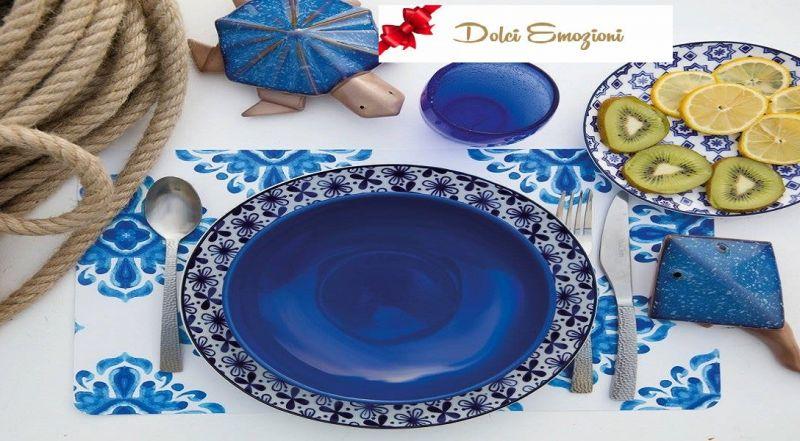 Dolci Emozioni offerta desing moderno - occasione servizio piatti colorati Brindisi