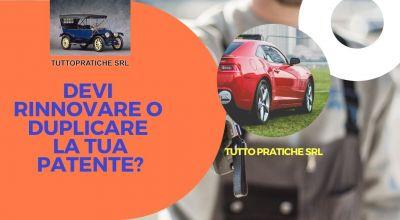 occasione rinnovo patente di guida per auto e moto a treviso offerta disbrigo pratiche di duplicato patente per auto e moto a treviso