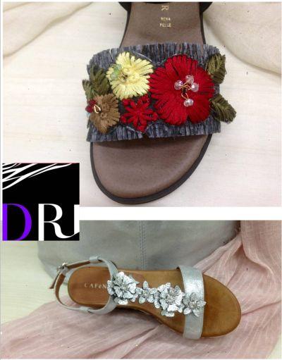 offerta calzature e accessori moda promozione sandali strass e infradito