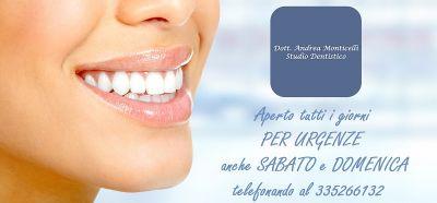 offerta studio dentistico monticelli dentista per urgenze occasione studio odontotecnico como