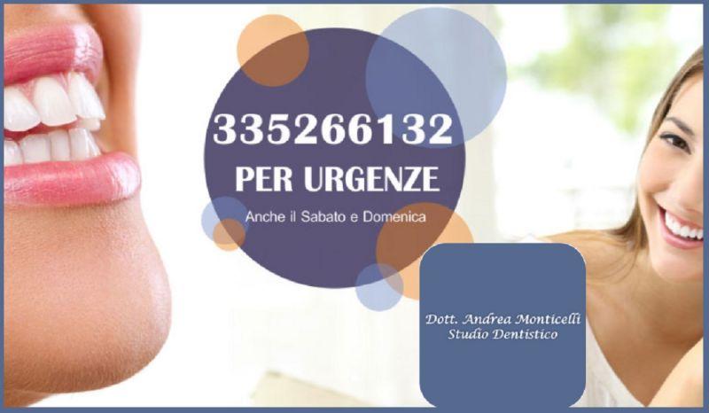 Offre cabinet dentaire Monticelli dentiste pour urgences - occasion cabinet dentaire Côme