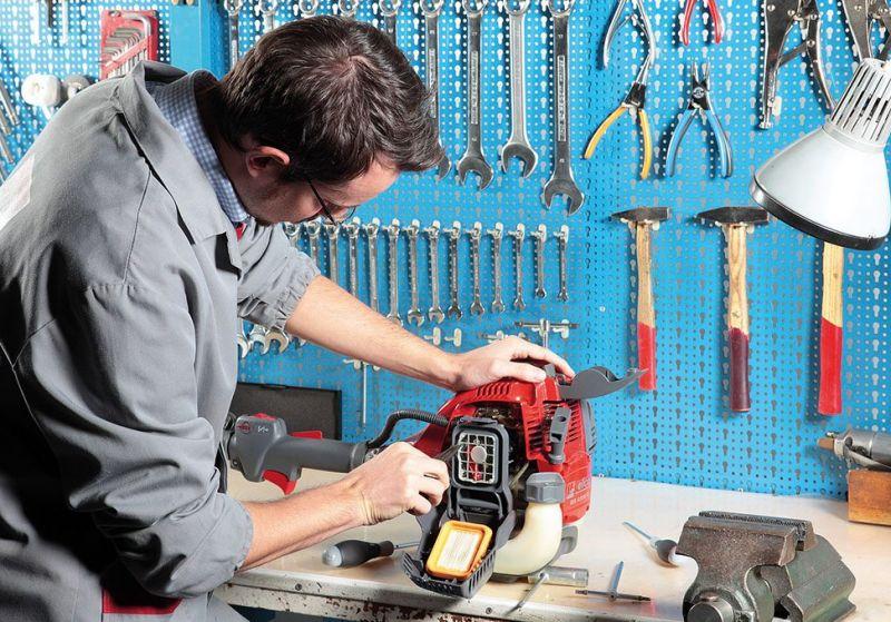 manutenzione macchine per il giardinaggio-manutenzione macchine e attrezzature da giardino