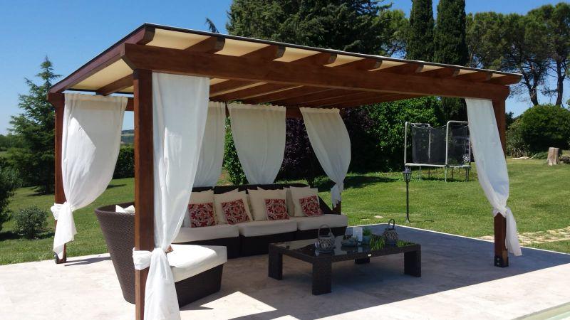 ARREDO FLEX offerta pergolati in legno - occasione tende removibili Assisi
