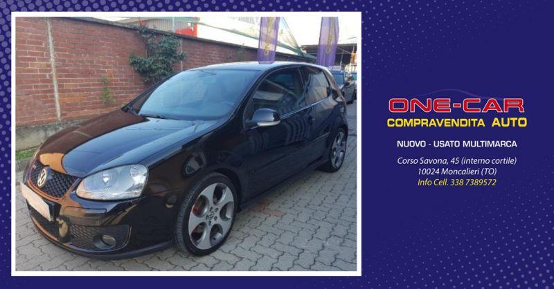 ONE CAR offerta golf v gti usata cambio manuale - occasione volkswagen usata