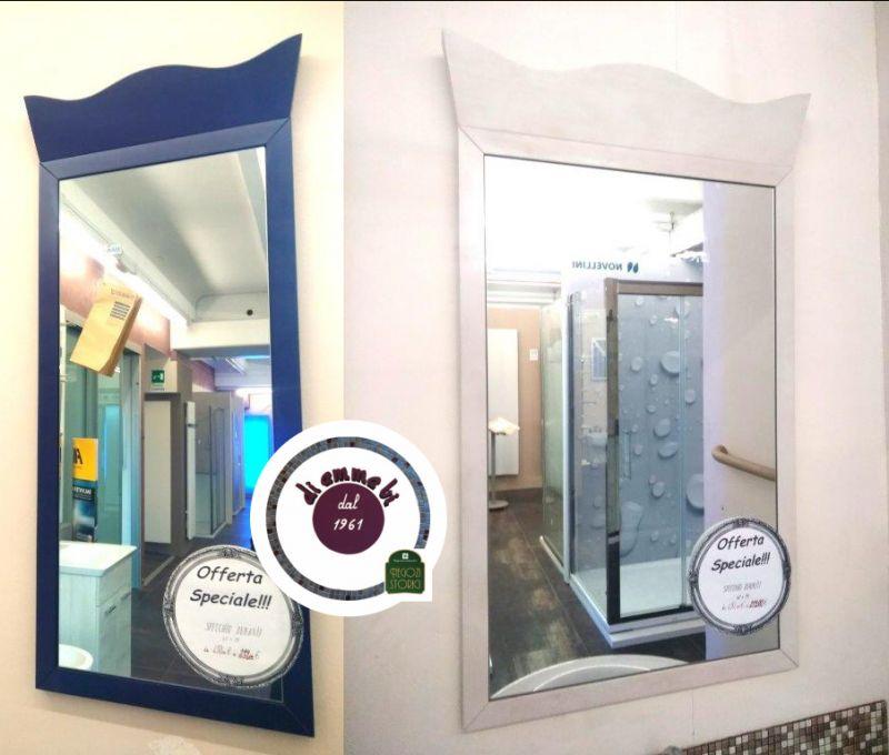 DI EMME BI offerta specchio duravil bianco blu - promozione collezione specchi duravil