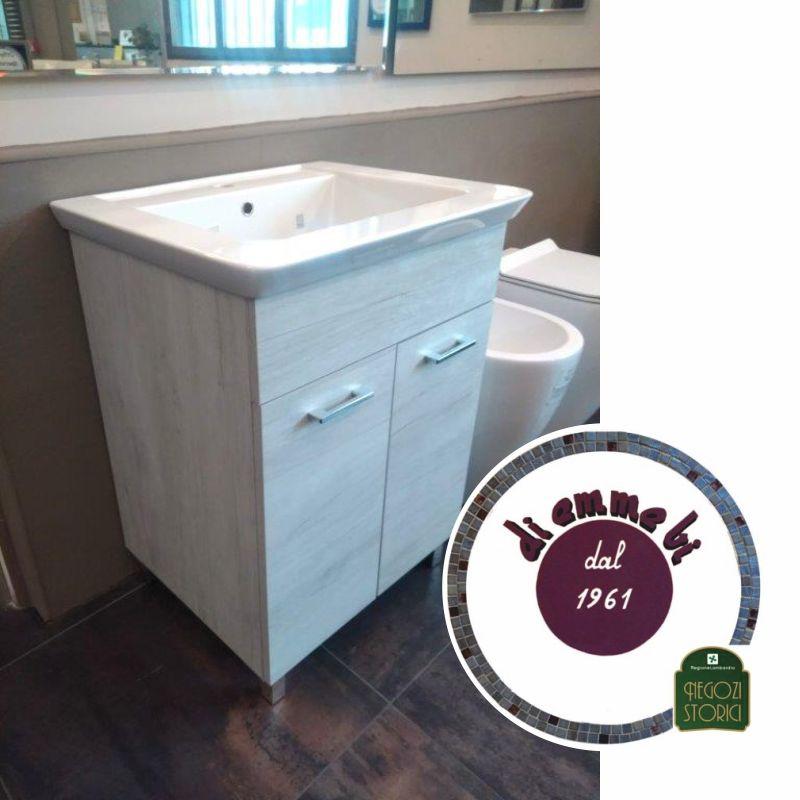 DI EMME BI offerta lavatoio deep 60 - promozione lavabo con mobile a due ante