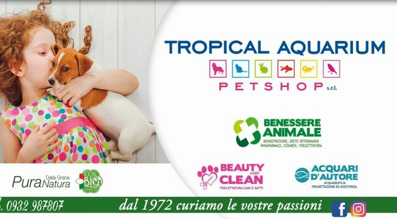 Tropical Aquarium petshop srl offerta animali - occasione negozio animali Ragusa