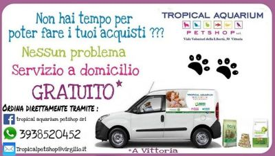 consegna a domicilio da tropical aquarium petshop