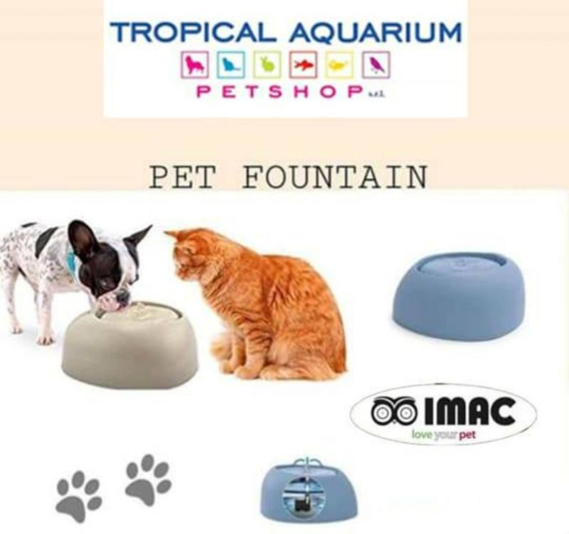 Fontana elettrica per cani e gatti
