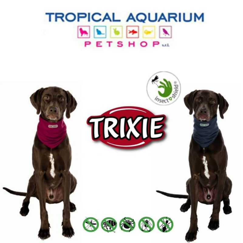 Bandana azione repellente insetti per cani