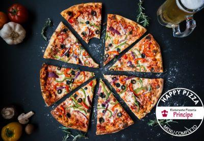 offerta sconto ristorante pizza e bibita promozione pizzeria menu completo