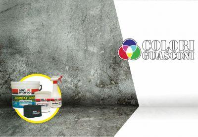 colorificio guasconi offerta kit combat 6000 san marco eliminare muffa prevenire ricomparsa