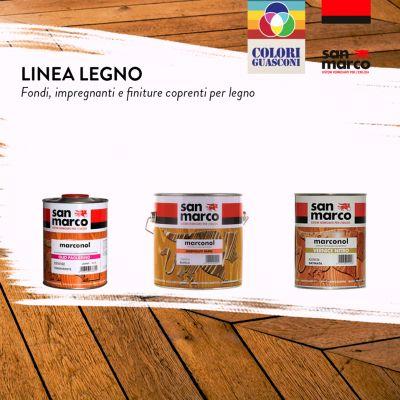 colorificio guasconi offerta linea legno san marco promozione pitture impregnanti legno