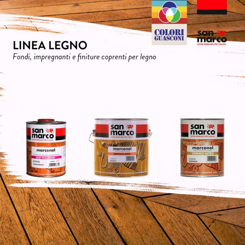 COLORIFICIO GUASCONI offerta linea legno san marco - promozione pitture impregnanti legno