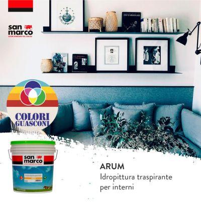 colorificio guasconi offerta idropittura traspirante inodore interni promo arum abitare il benessere