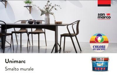 colorificio guasconi offerta unimarc smalto murale ad acqua san marco promo smalto idrodiluibile