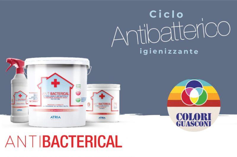 COLORIFICIO GUASCONI offerta pittura lavabile antibatterica atria – primer igienizzante