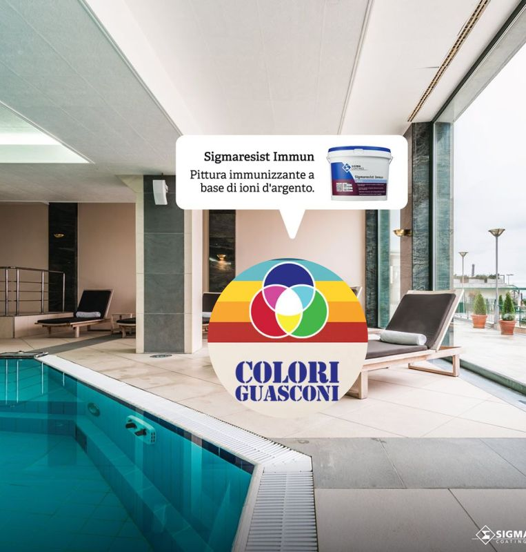COLORIFICIO GUASCONI offerta pittura immunizzante – promo pittura muraria ioni argento