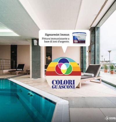 colorificio guasconi offerta pittura immunizzante promo pittura muraria ioni argento