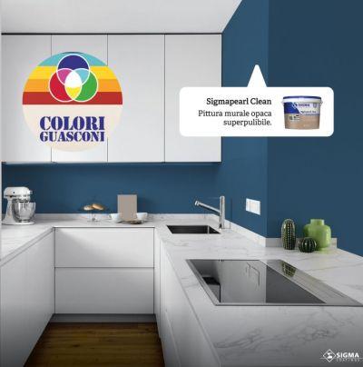 colorificio guasconi offerta pittura opaca super pulibile promozione pittura muraria per interni