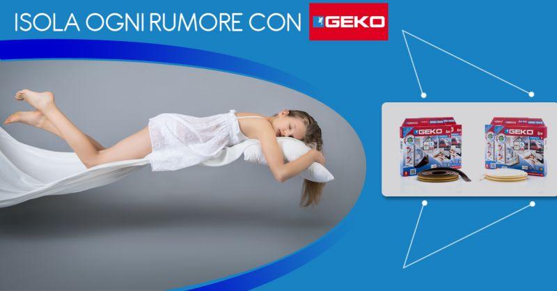 Offerta vendita guarnizione adesiva isolamento termico Geko SoundTerm - Ferramenta Vasconcelli