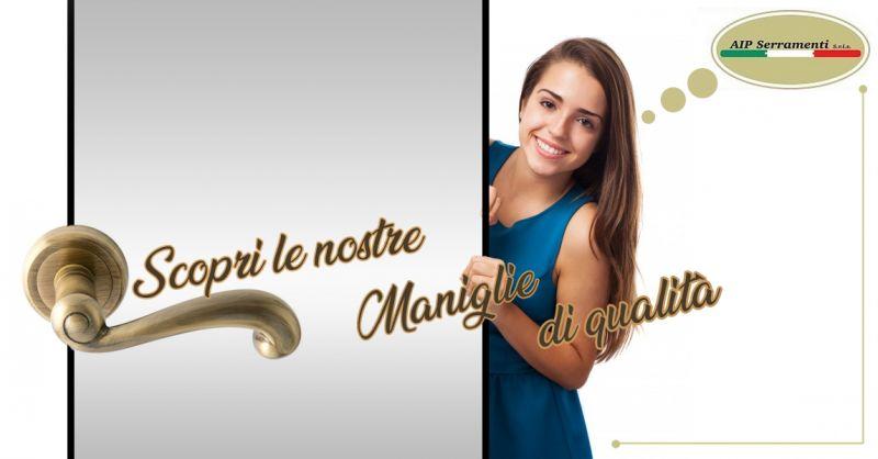 Offerta vendita maniglie design moderno Teggiano - maniglie per porta antiche Teggiano