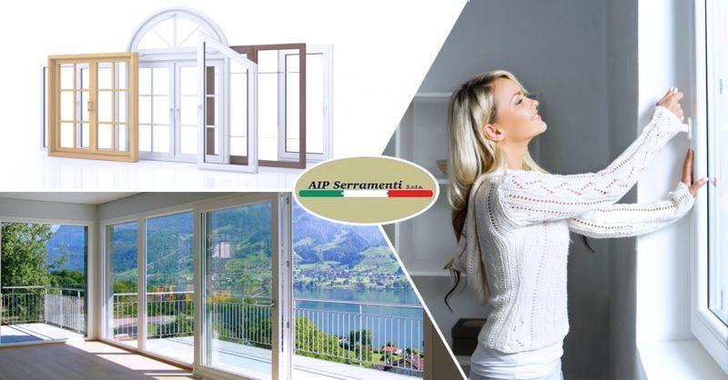 AIP SERRAMENTI SRLS - vendita e installazione infissi in pvc Teggiano Salerno