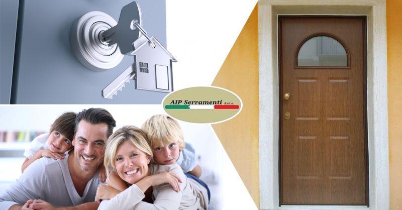 AIP SERRAMENTI SRLS- vendita e installazione porte portoncini blindati Teggiano Salerno