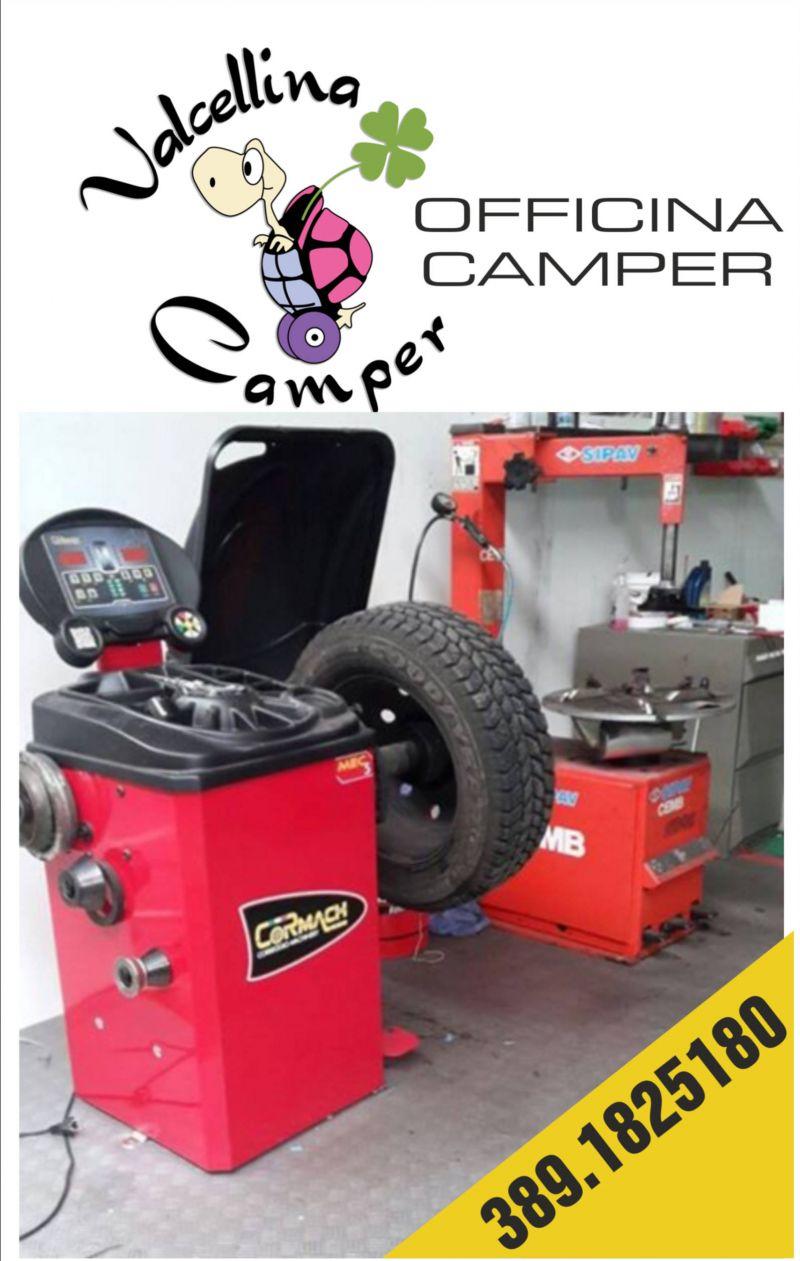 offerta officina camper - occasione riparazione e  pneumatici camper